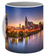 Nashville Skyline Coffee Mug by Brett Engle