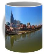 Nashville Skyline  Coffee Mug by Dan Sproul