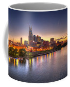 Nashville Skyline Panorama Coffee Mug