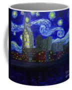 Dedication To Van Gogh Nashville Starry Nights Coffee Mug
