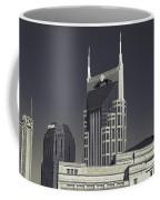 Nashville Tennessee Batman Building Coffee Mug