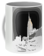 Nashville Touched In Color Coffee Mug