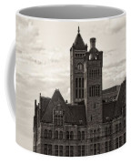 Nashville's Union Station Coffee Mug by Dan Sproul
