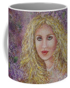 Natalie In Lilacs Coffee Mug
