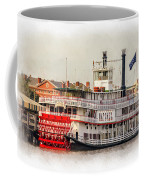 Natchez Sternwheeler Paint Coffee Mug