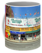 Nathan's Coney Island Coffee Mug