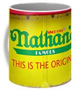 Nathan's Famous Coffee Mug