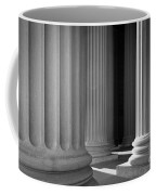 National Archives Columns Coffee Mug by Inge Johnsson