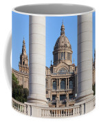National Art Museum Of Catalonia In Barcelona Coffee Mug
