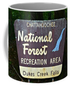 National Forest Recreation Area Coffee Mug