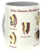 Native American Headdresses Number 4 Coffee Mug