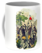 Native American Indian War Dance Coffee Mug