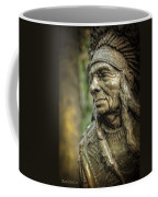 Native American Statue At Niagara Falls State Park Coffee Mug