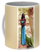 Native American Statue Coffee Mug