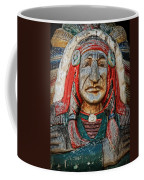 Native American Wood Carving Coffee Mug