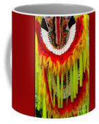 Native American Yellow Feathers Ceremonial Piece Coffee Mug