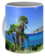 Native Fan Palms In Sant Elm Coffee Mug