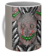 Native Indian Skull Art Coffee Mug