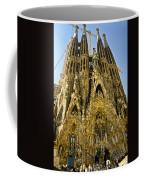 Nativity Facade - Sagrada Familia Coffee Mug