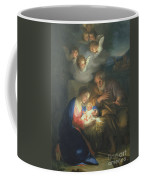 Nativity Scene Coffee Mug by Anton Raphael Mengs