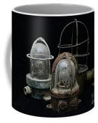 Natuical - Vintage Ship Deck Lights Coffee Mug