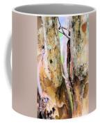 Natural Abstract Crepe Mertle Coffee Mug