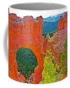 Natural Bridge In Bryce Canyon National Park-utah  Coffee Mug