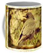 Natural Crow Coffee Mug