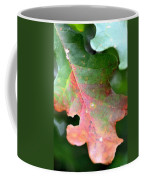 Natural Oak Leaf Abstract Coffee Mug