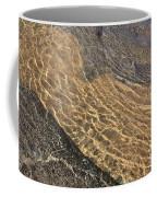 Nature Abstract - Clear Lake Tahoe Water  Coffee Mug