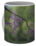Nature Does Not Hurry Blossoms In Purple Coffee Mug