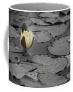Nature Does Not Hurry Waterlily Coffee Mug