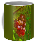 Nature Goodness Grapes On The Vine Coffee Mug