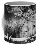 Natures Awning Bw Coffee Mug