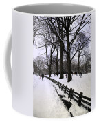 Nature's Canvas On A Wintry Day Coffee Mug