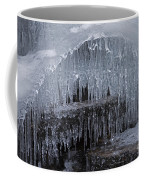 Natures Frozen Cathedral Sculpture Coffee Mug