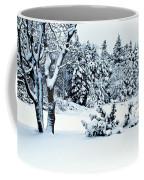 Natures Handywork - Snow Storm - Snow - Trees 2 Coffee Mug