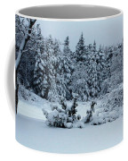 Natures Handywork - Snowstorm - Snow - Trees Coffee Mug