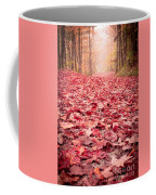 Nature's Red Carpet Revisited Coffee Mug by Edward Fielding