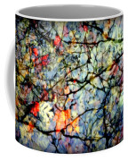 Natures Stained Glass Coffee Mug by Karen Wiles