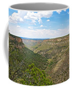 Navajo Canyon Overlook On Chapin Mesa Top Loop Road In Mesa Verde National Park-colorado Coffee Mug