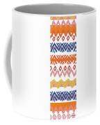 Southwest Pattern IIi Coffee Mug by Nicholas Biscardi