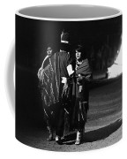 Navajo's Dance  Night Fire Rodeo Grounds Inter-tribal Indian Rodeo Gallup New Mexico 1969 Coffee Mug