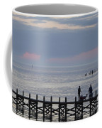 Navarre Beach Sunset Pier 10 Coffee Mug