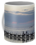 Navarre Beach Sunset Pier 11 Coffee Mug