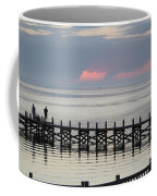 Navarre Beach Sunset Pier 17 Coffee Mug