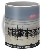 Navarre Beach Sunset Pier 18 Coffee Mug
