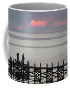 Navarre Beach Sunset Pier 20 Coffee Mug