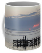 Navarre Beach Sunset Pier 22 Coffee Mug
