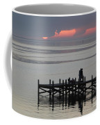 Navarre Beach Sunset Pier 29 Coffee Mug